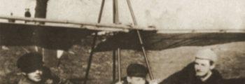 1909: HENRICH FOCKE, CARL TIEMANN UND FRIDO KIRCHHOFF AUF DEM OSTERDEICH.