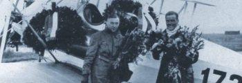1929: CORNELIUS EDZARD UND MAX MIDDENDORF NACH REKORDFLUG