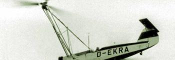 1936: DER ERSTE GEBRAUCHSFÄHIGE HUBSCHRAUBER DER WELT: FW 61