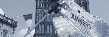 1998: DIE BREMEN ZUM 70. JAHRESTAG DES ATLANTIKFLUGES AUF DEM MARKTPLATZ