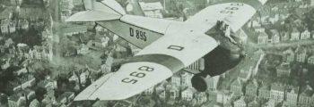 1924: FOCKE-WULF A 16 ÜBER BREMEN