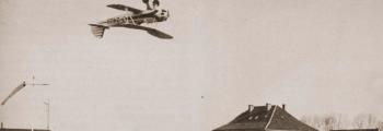 1932: GERD ACHGELIS IM STIEGLITZ AM FLUGHAFEN BREMEN
