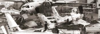1956: WESERFLUG WERK LEMWERDER NEUBEGINN MIT F-84, F-86 UND NORATLAS 2501