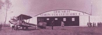 1920: ERSTE FLUGZEUGHALLE DES BVL